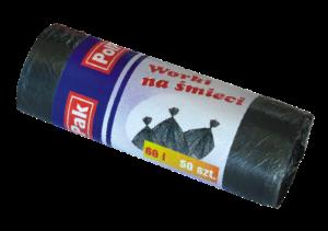 Worki HDPE 60L, 50 szt.